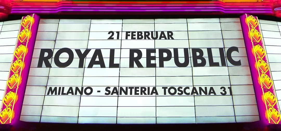 ROYAL REPUBLIC: la band svedese torna su un palco italiano in veste di headliner!