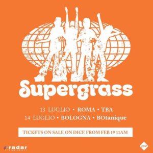 SUPERGRASS: DUE ATTESISSIME DATE ITALIANE PER LA BAND ICONA DEL BRIT POP!