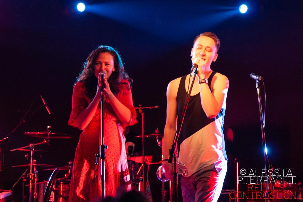 Diablo Swing Orchestra @ Sonic Room, Fabriano (AN) (foto di Alessia Pierpaoli)