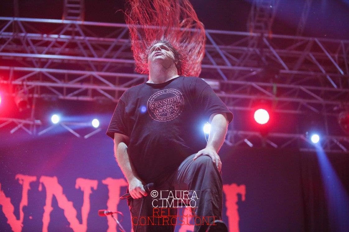 Cannibal Corpse + Sadist live @ Parma Music Park - Parma (Foto: Laura Cimino, Press: Luca Battaglia)