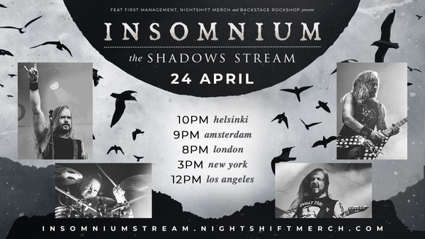 INSOMNIUM: annunciano The Shadows Stream