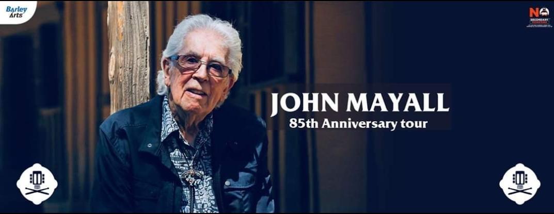 John Mayall live al Campus Industry Music - Parma (PR) il prossimo 29 Marzo!