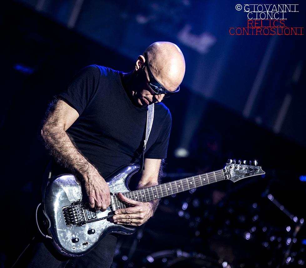 Joe Satriani - The Shapeshifting Tour 2020: 5 date in Italia a Maggio