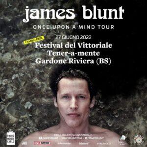 JAMES BLUNT: data riprogrammata al Festival Tener-a-mente(BS)