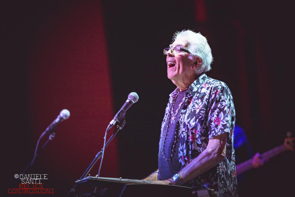 John Mayall - 85th Anniversary Tour @ Auditorium Parco della Musica di Roma (foto di Daniele Santi)