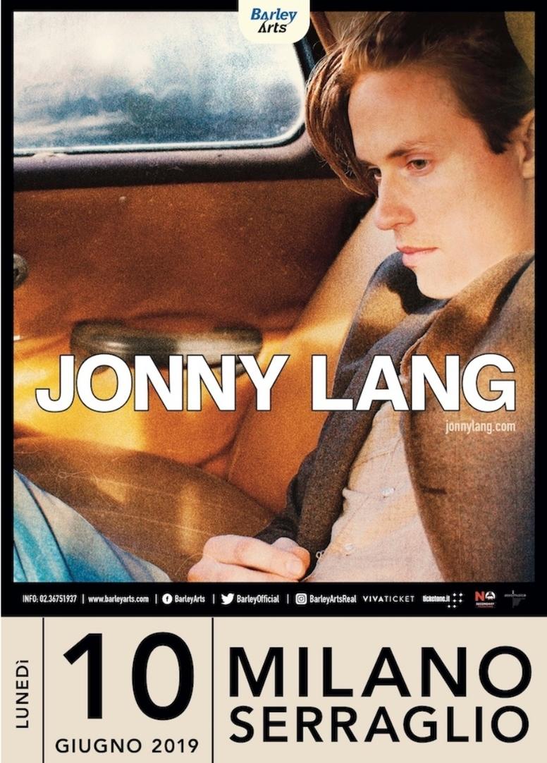Johnny Lang a Milano il 10 Giugno: unica data italiana!