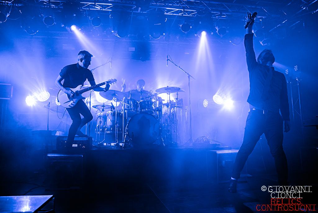 Leprous - Live @Campus Industry Music - Parma (foto di Giovanni Cionci)