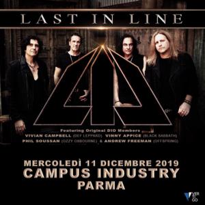 Last in Line al Campus Industry Music (Parma) il prossimo 11 Dicembre!