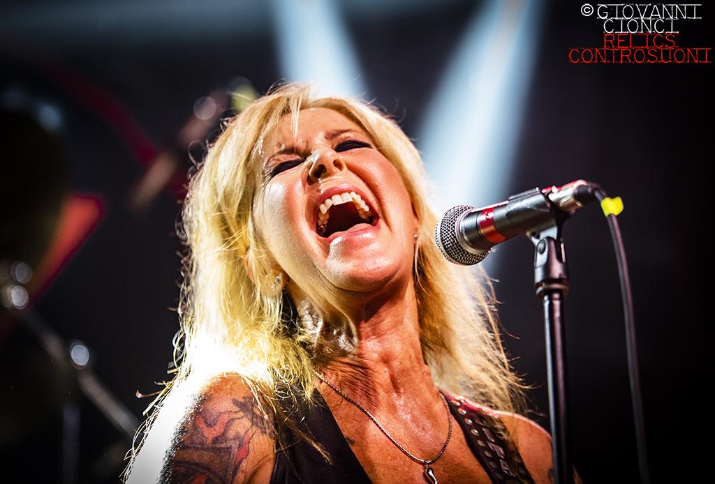 Lita Ford: Live @Slaughter Club - Paderno Dugnano (MI) - (foto di Giovanni Cionci)