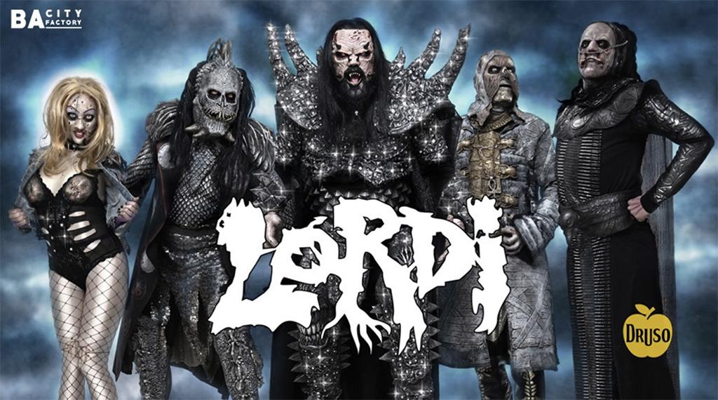 Lordi - Live @Druso - Ranica (BG) il 20 Febbraio
