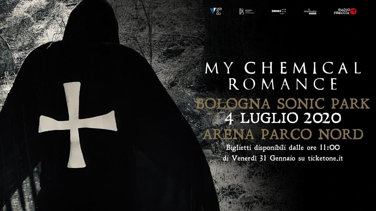 My Chemical Romance - annunciati per la nuova edizione di Bologna Sonic Park