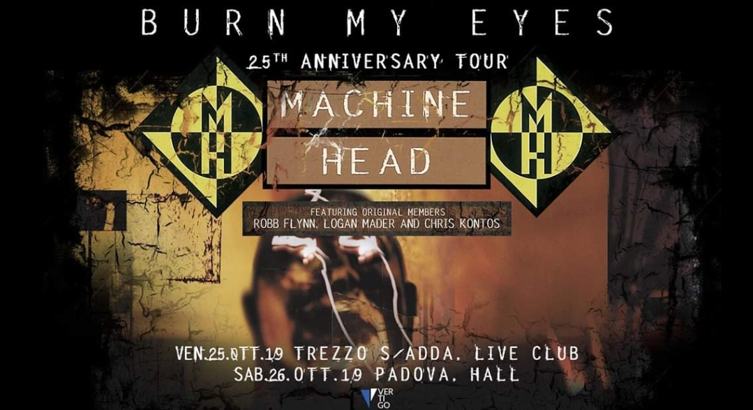 Machine Head in Italia per due date ad Ottobre!