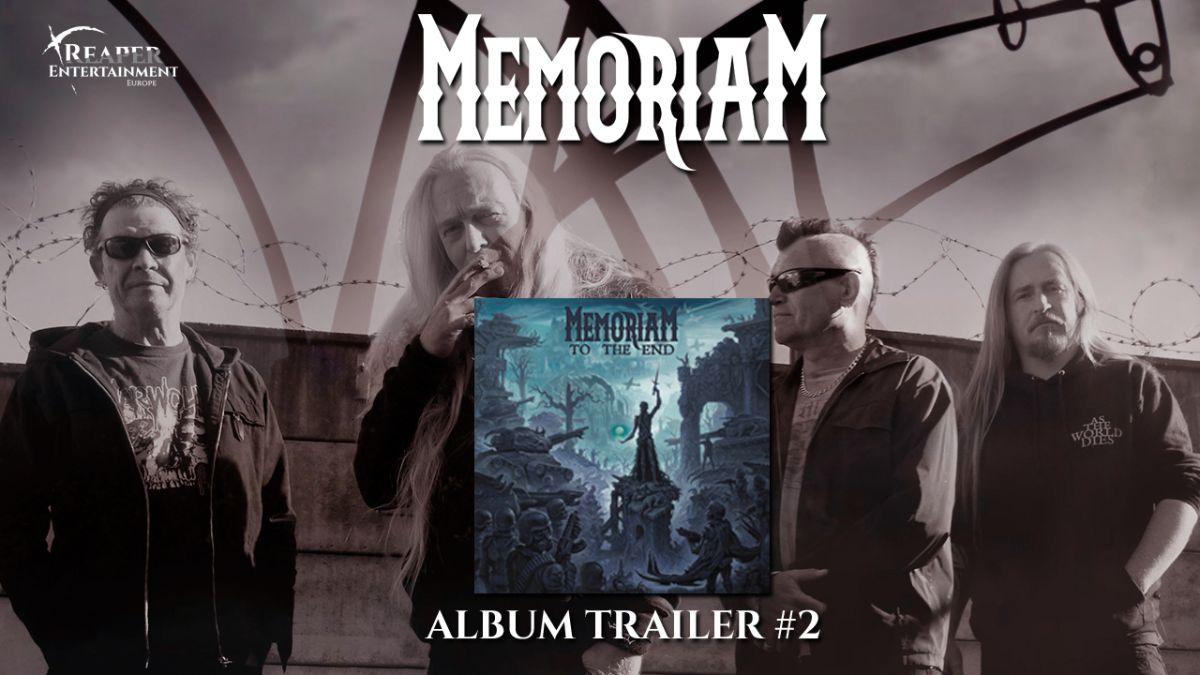 """MEMORIAM: pubblicato il secondo trailer del nuovo album """"To the End"""""""