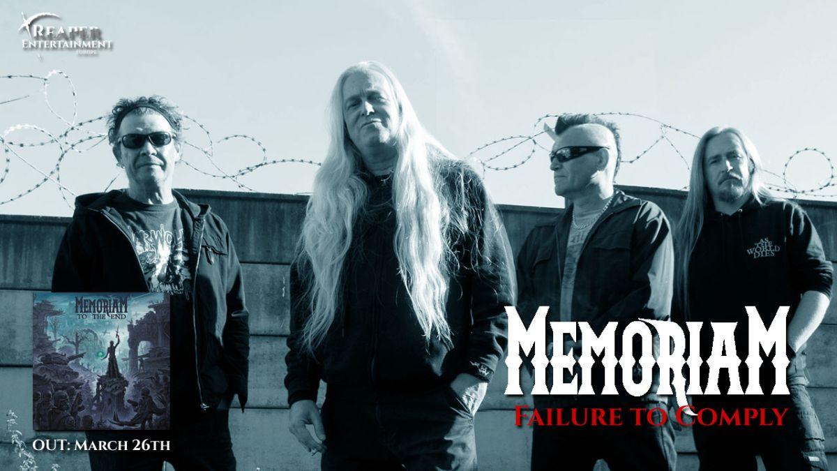 """MEMORIAM: svelato il secondo singolo e lyric video """"Failure to Comply"""""""