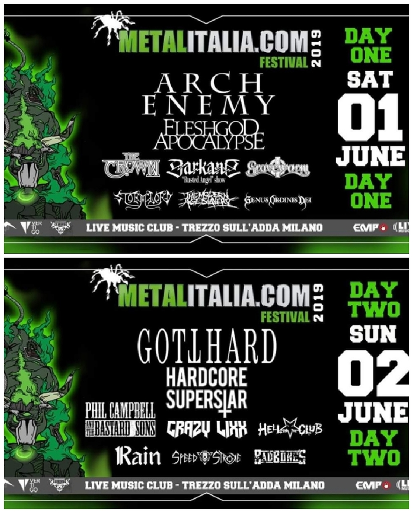 Metalitalia Festival 2019: la line up completa!