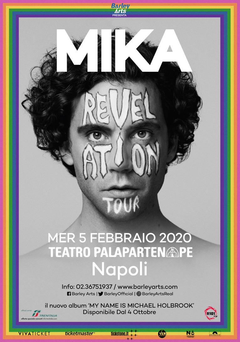 """Mika a Napoli il 5 febbraio per il """"Revelation Tour"""""""