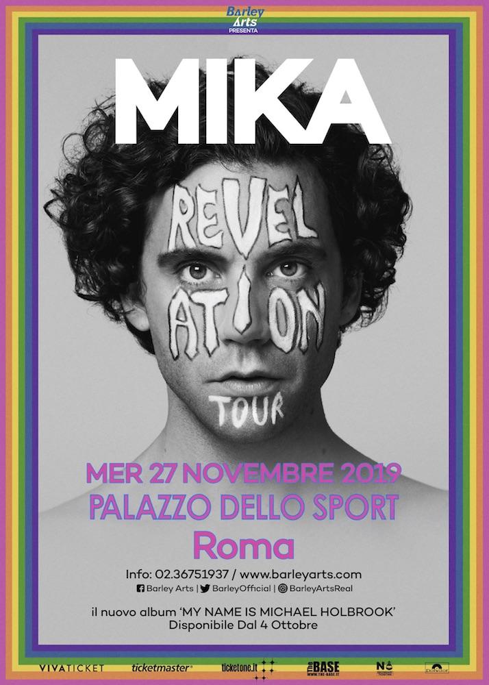 Mika sarà a Roma il 27 Novembre per il suo Revelation Tour