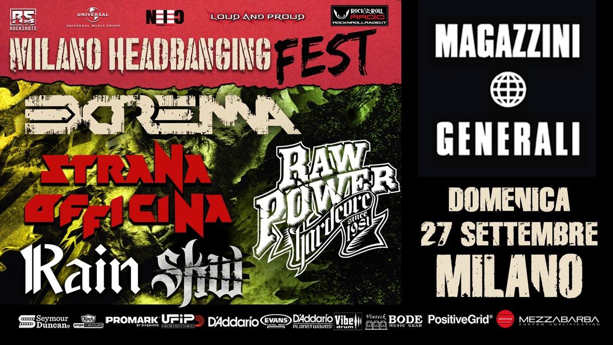 Milano Headbanging Fest: posticipato al 2021