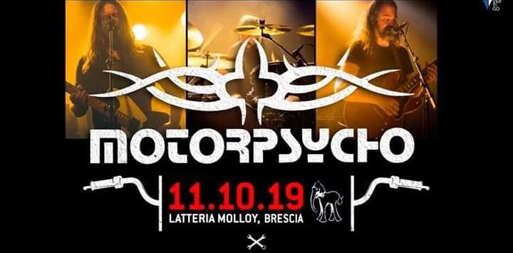 Motorpsycho - Live alla Latteria Molloy di Brescia l'11 Ottobre