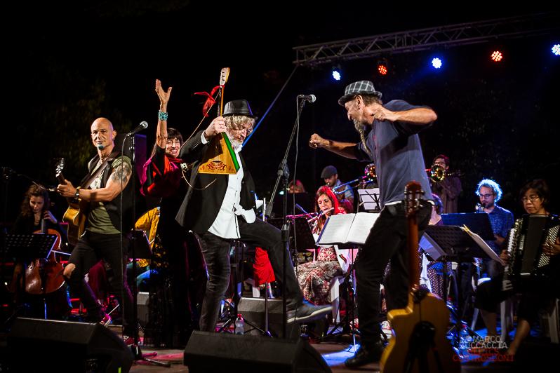 Orchestra Multietnica di Arezzo @Al Ponte Festival, Ponte San Giovanni PG (foto di Marco Zuccaccia)