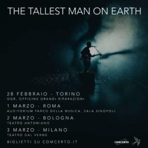 """THE TALLEST MAN ON EARTH: annuncia il suo ritorno in Italia con """"When The Bird Sees The Solid Ground"""""""