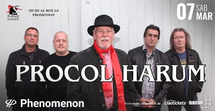 Procol Harum: in arrivo al Phenomenon di Fontaneto d'Agogna a marzo