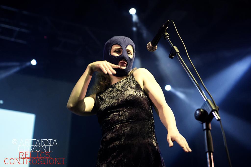 Pussy Riot @ Estragon Club, Bologna (foto di Arianna Govoni)