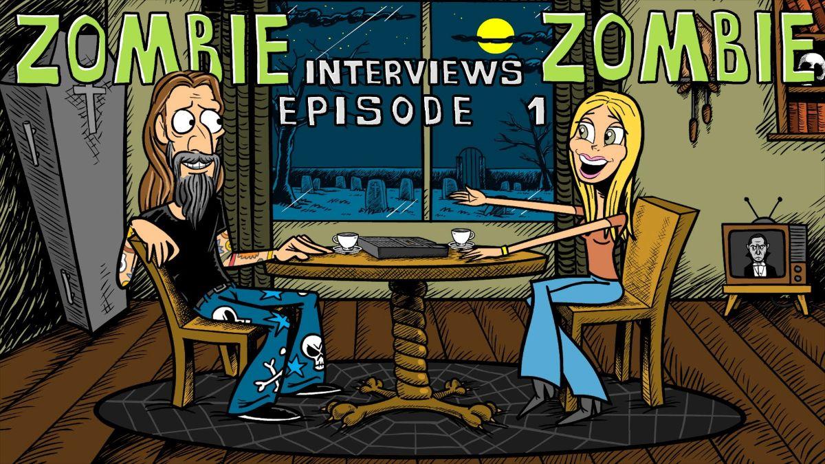 """ROB ZOMBIE: pubblica la serie di video animati """"Zombie Interviews Zombie"""""""