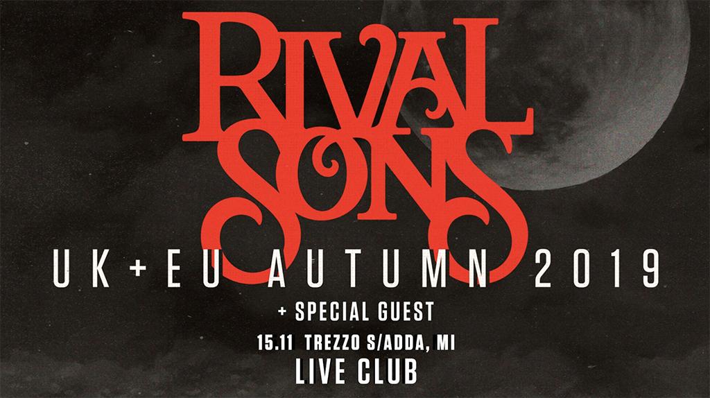 Rival Sons: live @Live Club di Trezzo sull'Adda (MI) il 15 Novembre