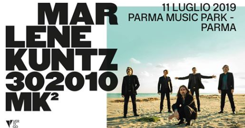 Marlene Kuntz l'11 Luglio al Parma Music Park