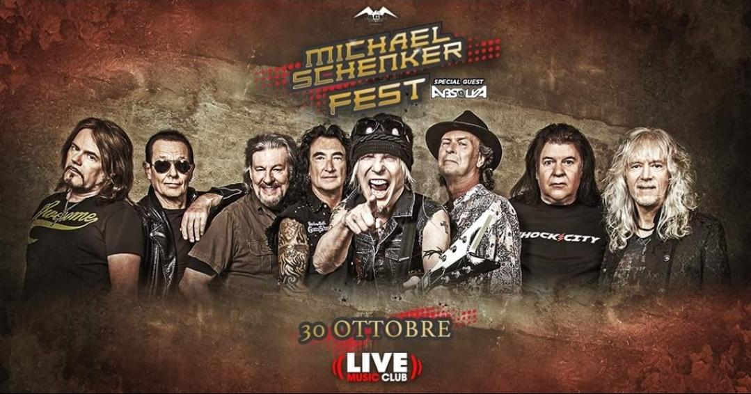 Michael Schenker Fest - 30 Ottobre @ Live Music Club - Trezzo sull'Adda (MI)