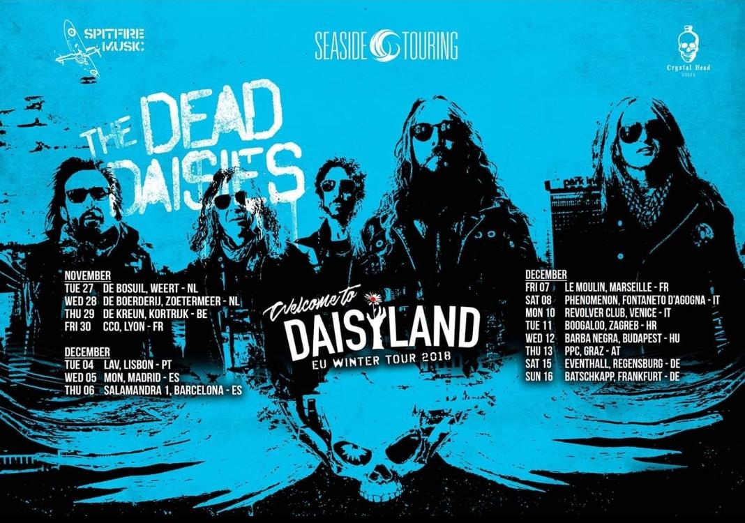 The Dead Daisies tornano in Italia per due date a Dicembre!