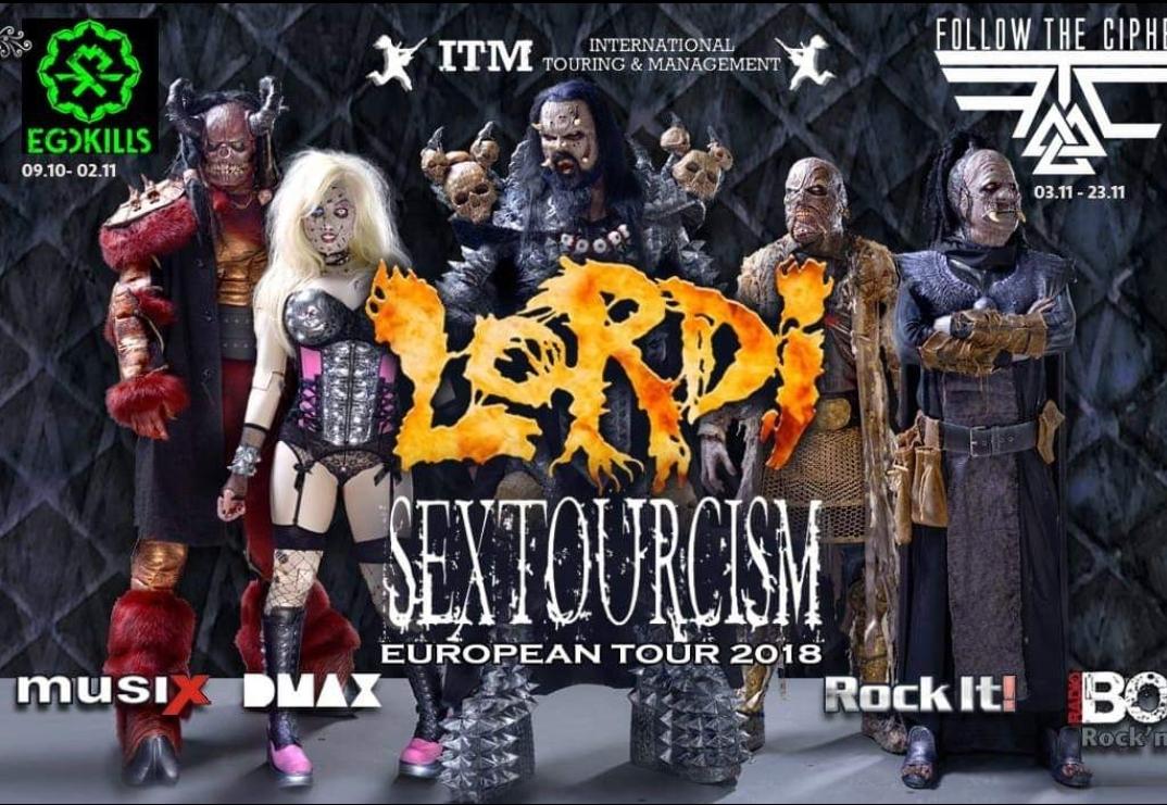 Lordi in Italia per due date a Novembre!