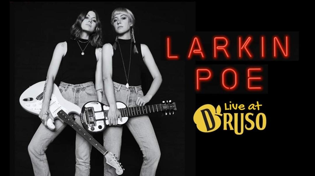 Larkin Poe - live @ Druso - Ranica (BG) il 28 Novembre!