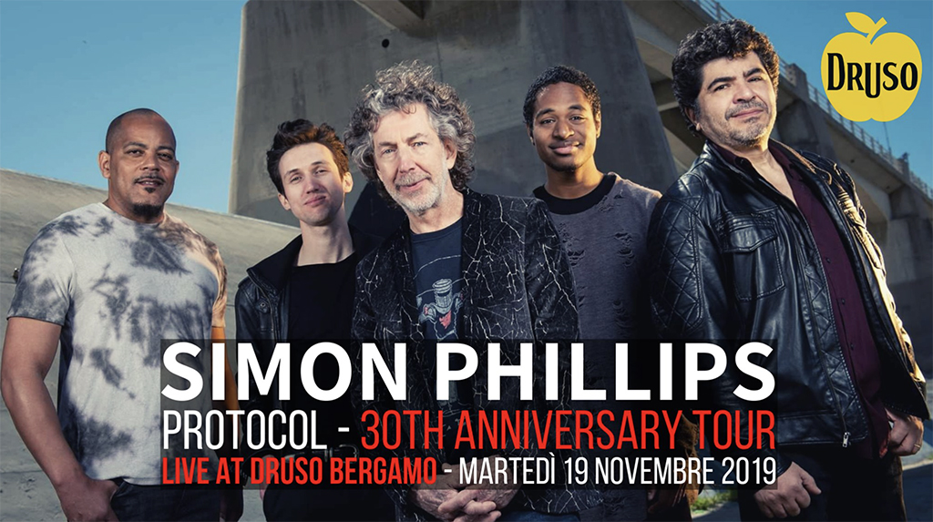 Simon Phillips: Live al Druso - Ranica (BG) il 19 Novembre