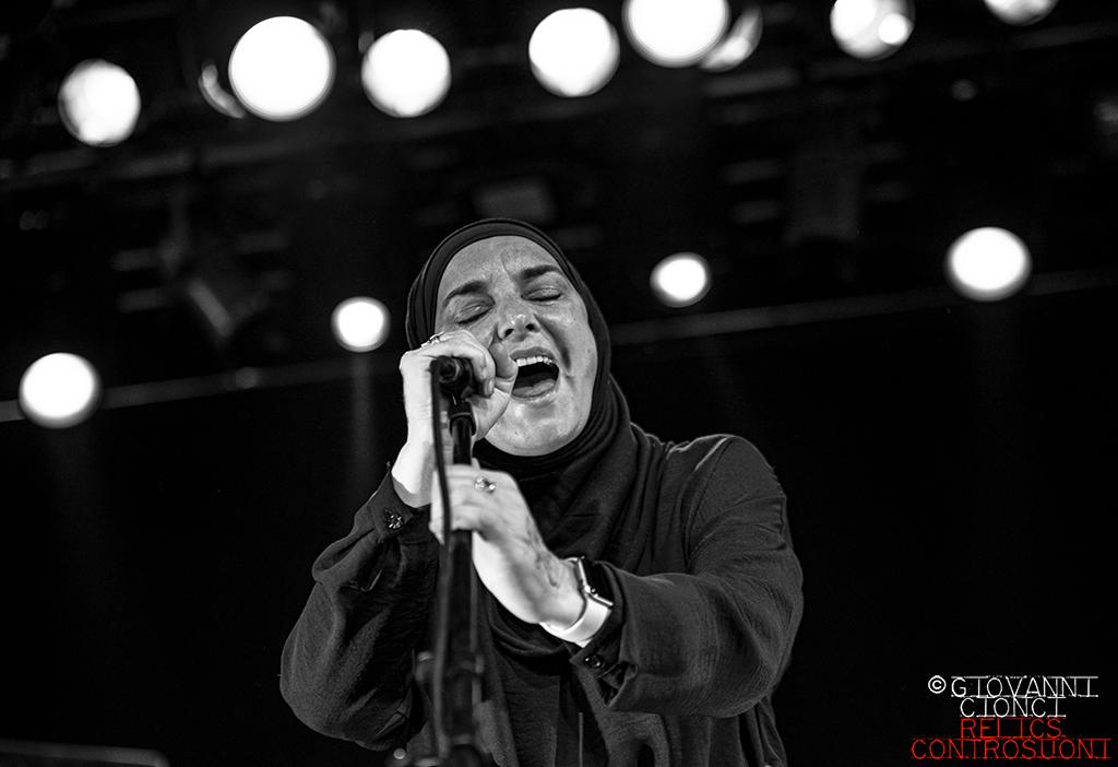 Sinead O'Connor: Live @Campus Industry Music - Parma (foto di Giovanni Cionci)