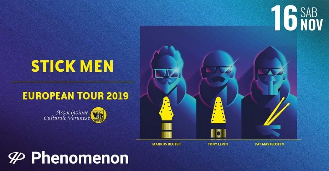 StickMen - Live @Phenomenon - Fontaneto D'Agogna (NO) il prossimo 16 Novembre