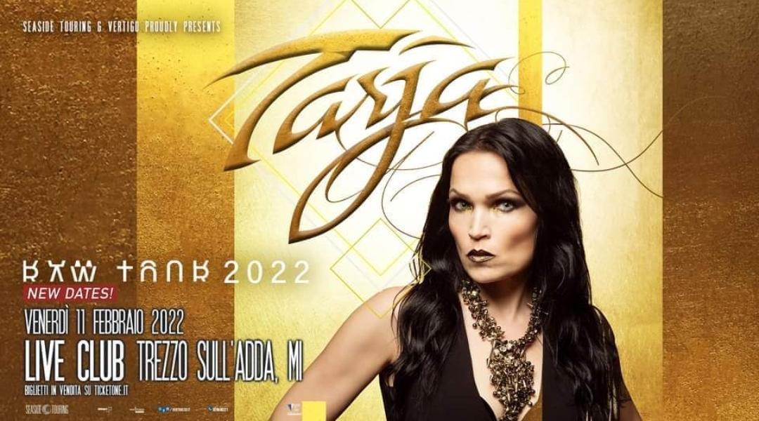 Tarja Turunen: data italiana rinviata al 2022