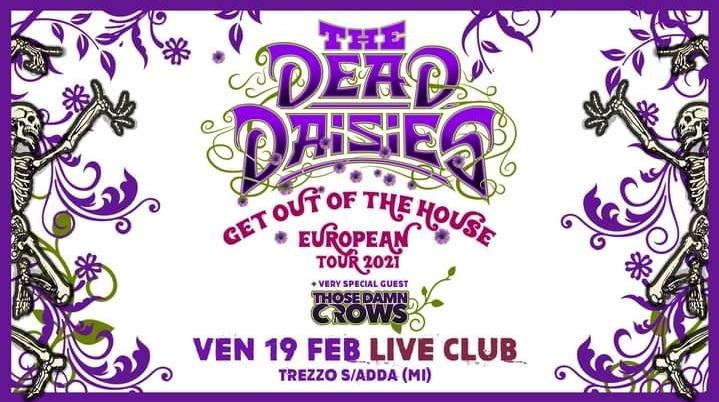 The Dead Daisies: nuova data il 19 Febbraio 2021 @Live Music Club di Trezzo sull'Adda (MI)
