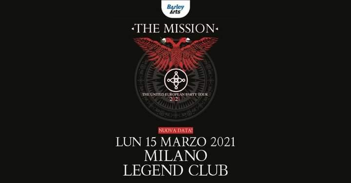 The Mission: recupero data italiana il 15 Marzo 2021
