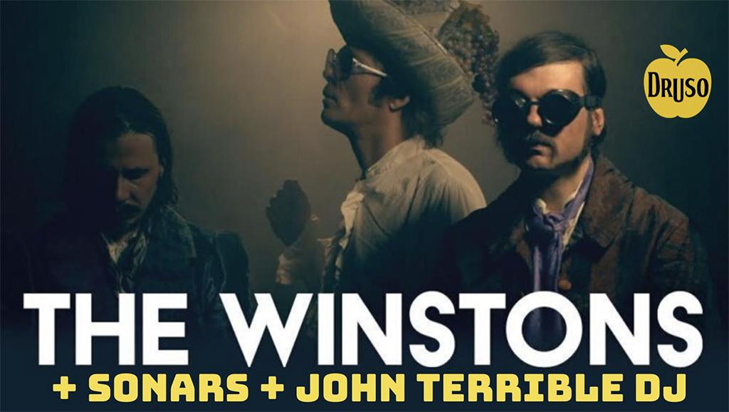 The Winstons - Live @Druso - Ranica (BG) il 24 Gennaio