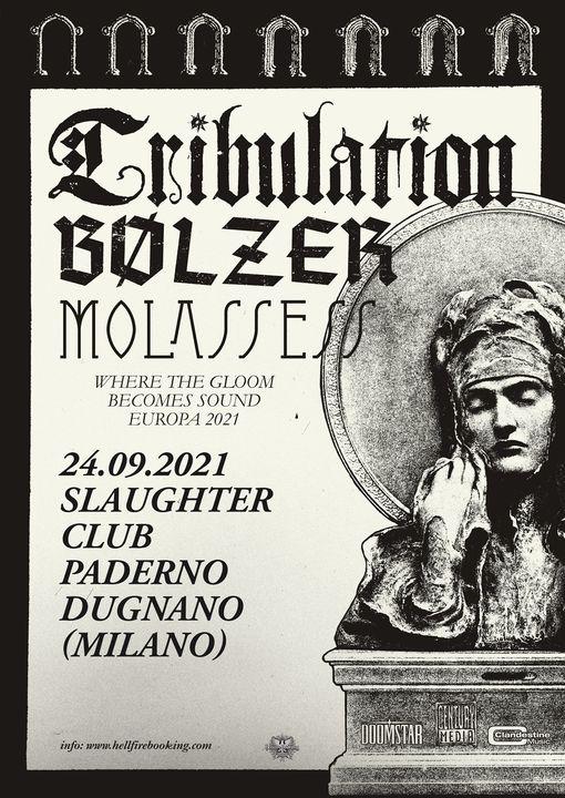 Tribulation: posticipata la data italiana