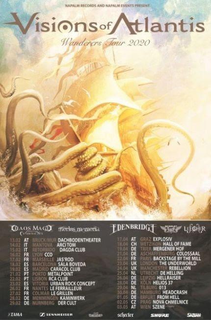 Visions of Atlantis: due date in Italia a febbraio