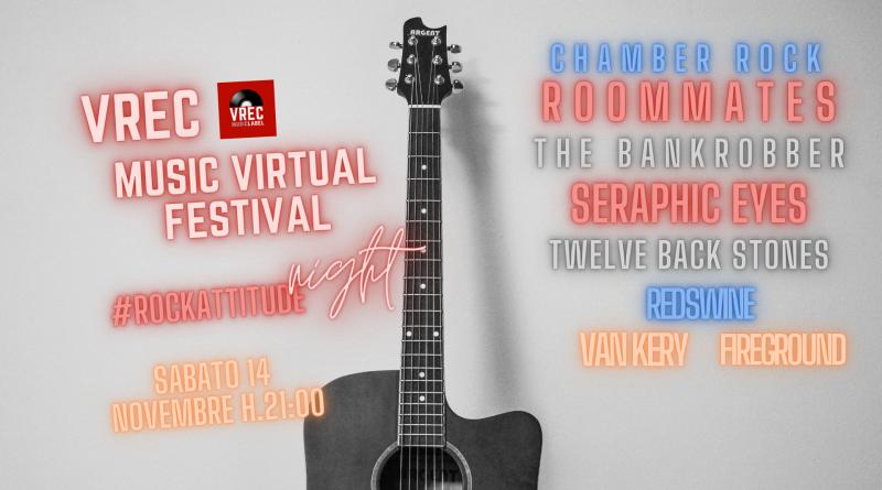 VREC MUSIC VIRTUAL FESTIVAL: Parte sabato 14 novembre il festival online dell'etichetta discografica veronese