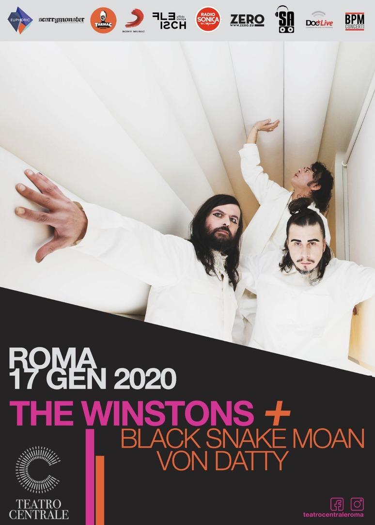 THE WINSTONS @ Teatro Centrale Roma - Venerdì 17 gennaio 2020