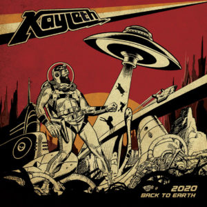 Kayleth - Back to Earth (Argonauta Records, 2020) di Mr. Wolf