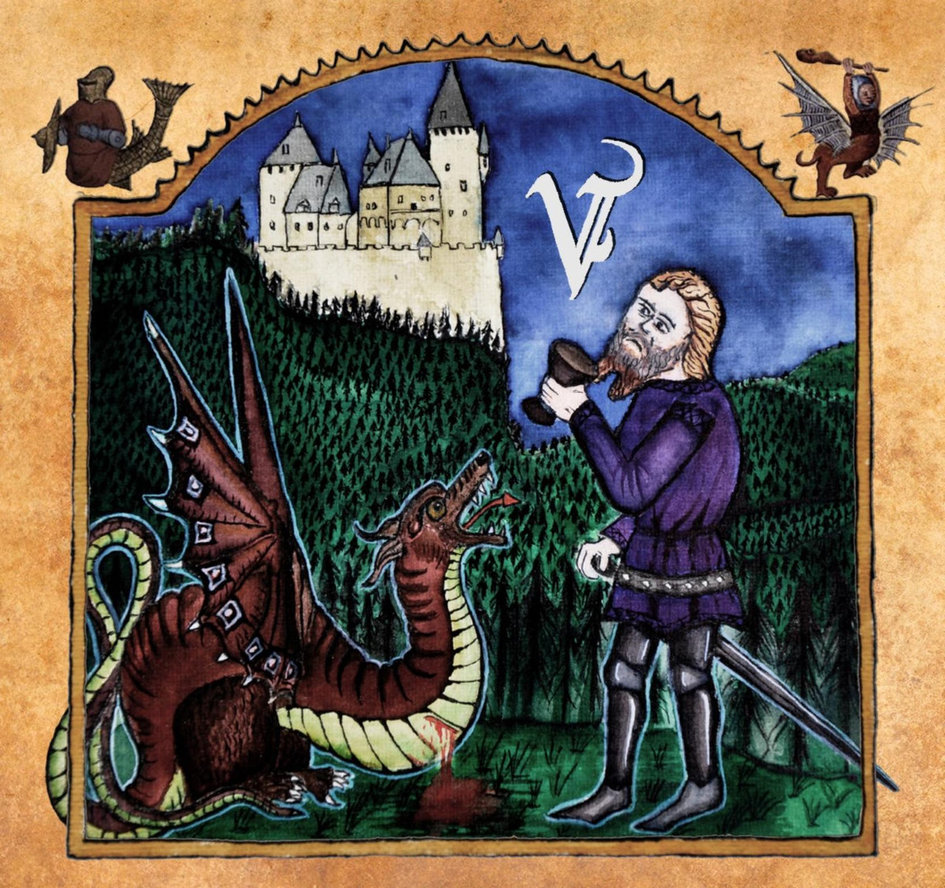 Véhémence - Par Le Sang Versé (Antiq Records, 2019) di Giuseppe Grieco