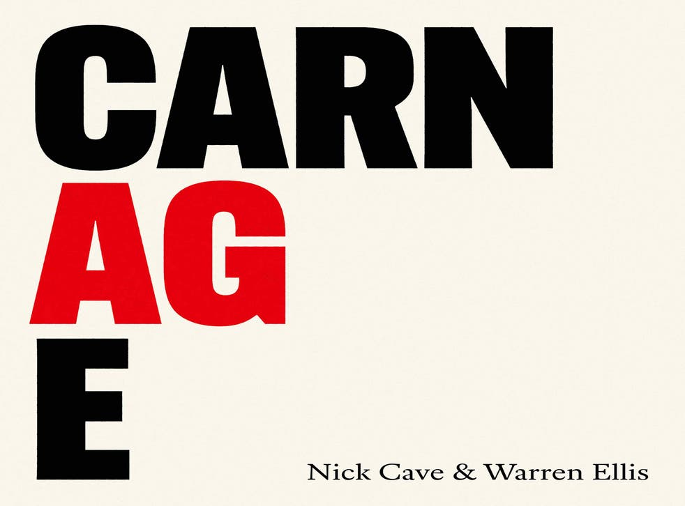 Nick Cave & Warren Ellis - Carnage (Awal Recording, 2021) di Paolo Guidone