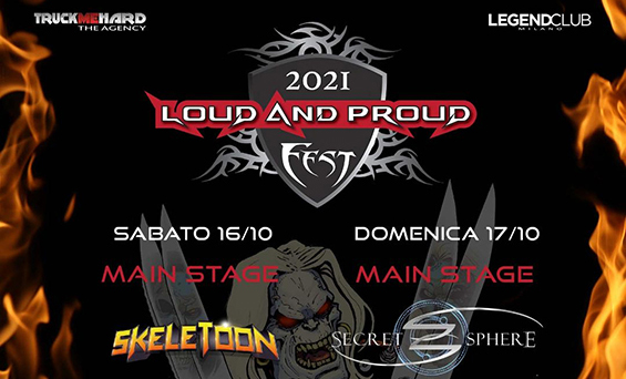 LOUD AND PROUD FEST: live a Milano