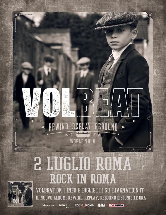 I Volbeat tornano per il Rock In Roma 2020